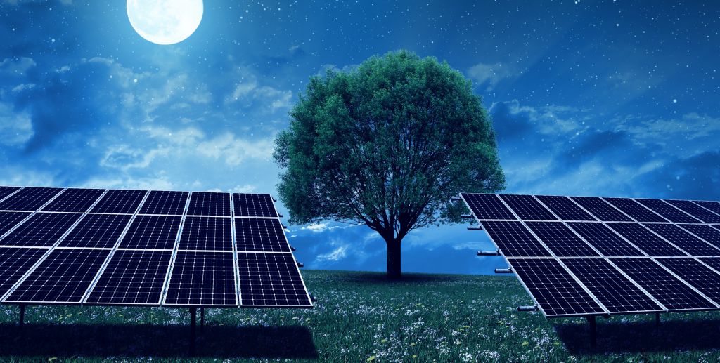 Do Solar Panels work in the Dark